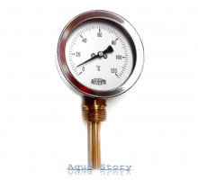 Термометр ARTHERMO радиальный (Ø68 мм, гильза 50 мм, 0-120°С)