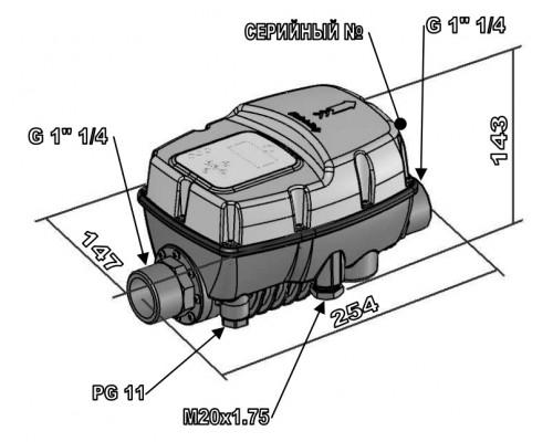 Преобразователь частоты для насоса Italtecnica SIRIO Entry 230