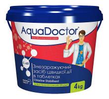 Дезинфектант на основе хлора быстрого действия AquaDoctor C-60T - 4кг