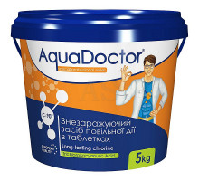 Дезинфектант на основе хлора длительного действия AquaDoctor C-90T - 5кг
