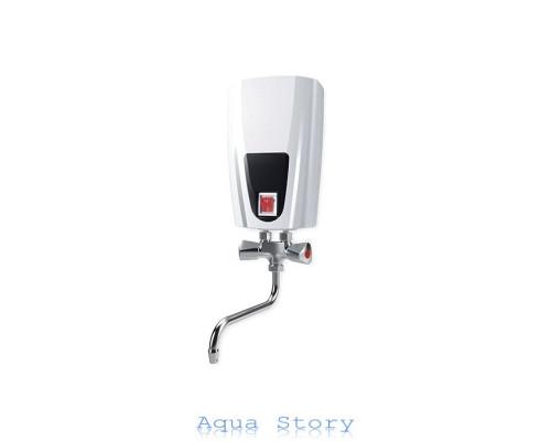 ELDOM, водонагреватель проточный Eldom E71 6,5kw кран