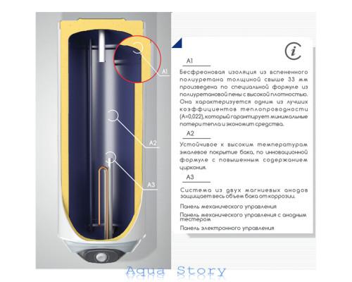 ELDOM, водонагрівач Favourite WH010046R 100 л (праве підключення)