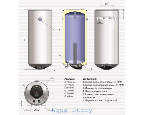ELDOM, водонагреватель Eureka 200 72281D