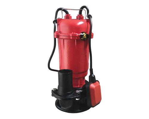 Насос фекальный Optima WQD 10-15 1.3 кВт +10м шланг +хомут +перчатки +Силушка 100гр