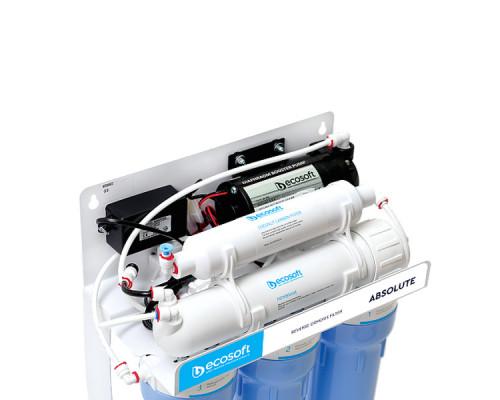 Обратый осмос с помпой Ecosoft Absolute 5-50P (MO550PSECO)