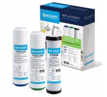Комплект картриджів Ecosoft покращений для потрійних фільтрів