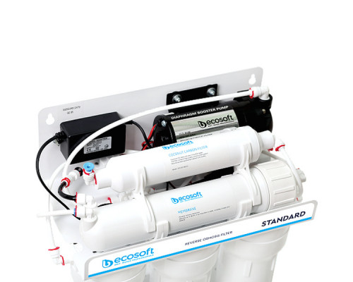 Зворотний осмос Ecosoft Standard 5-50P з помпою (MO550PECOSTD)