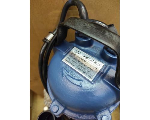 Фекальный насос Forwater WQD-C-13-10 с ножом 2.5 кВт +10м шланг +хомут +перчатки