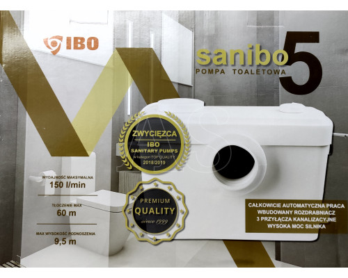 Канализационная насосная станция Сололифт Ibo Sanibo 5