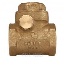 """Клапан обратного хода воды ITAP ROMA 130 хлопушка 1/2"""""""