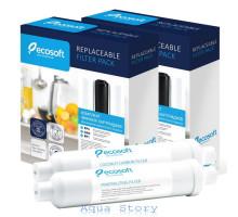 Годовой комплект Ecosoft + Постфильтр + Минерализатор