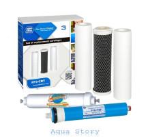 Комплект картриджів Aquafilter + Post + Membrane