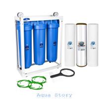 Тройная система обезжелезивания Aquafilter Big Blue 20