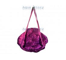 Гамак качеля для саду Виробництво Україна VIP 250 кг фіолетовий