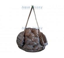 Гамак качеля для саду Виробництво Україна LUXE 250 кг коричневий