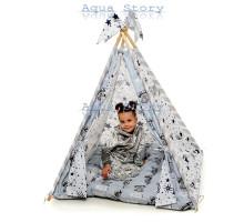 """Вигвам детский игровая палатка """"Медведи Silver"""""""