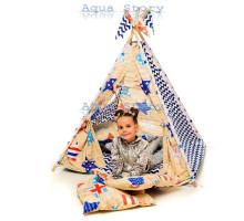 """Вигвам детский игровая палатка """"Америка"""""""