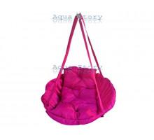 Гамак качеля для саду Виробництво Україна LUXE 250 кг рожевий