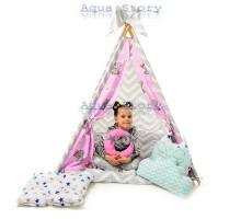 """Вигвам детский игровая палатка """"Медведи Rose"""""""