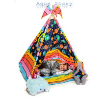 """Вигвам детский игровая палатка Вигвам """"Космос"""""""
