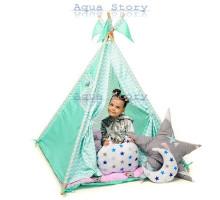 """Вигвам детский игровая палатка """"Медведи Mentol"""""""