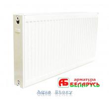 Сталевий радіатор опалення Арматура Білорусь 22 тип, 500X700