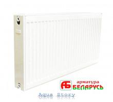 Сталевий радіатор опалення Арматура Білорусь 22 тип, 500X800