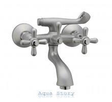 Смеситель для ванны Haiba Dominox 142 Satin