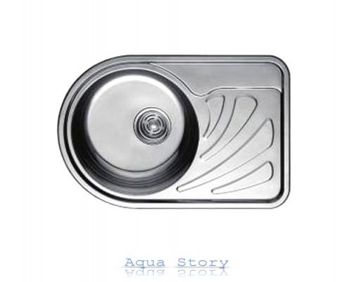 Кухонна мийка Haiba 67x44 SATIN