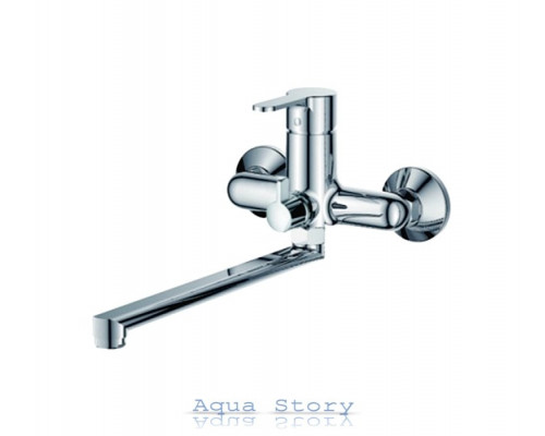 Смеситель для ванны с длинным изливом IBERGRIF SQUARE M13122