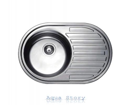 Кухонна мийка Haiba 77х50 SATIN