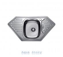 Кухонная мойка Haiba 95x50 SATIN