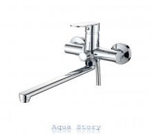 Змішувач для ванни з довгим виливом IBERGRIF RIVER M13121