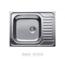 Кухонная мойка Haiba 58x48 SATIN