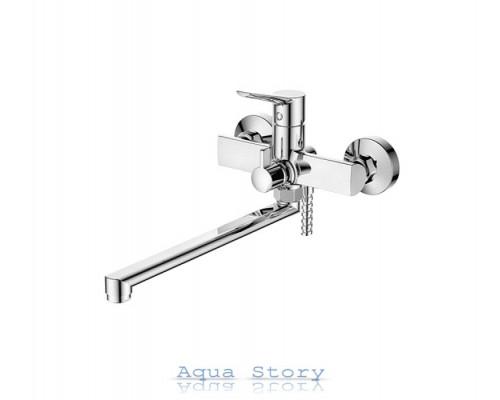 Смеситель для ванны с длинным изливом IBERGRIF ARIAL M13126