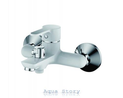 Змішувач для ванни з коротким виливом IBERGRIF SQUARE M13222W