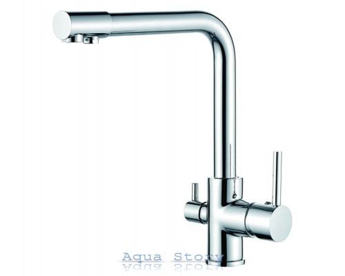 Смеситель для кухни с выходом для питьевой воды IBERGRIF M22109