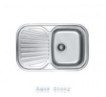 Кухонная мойка Haiba 74x48 SATIN