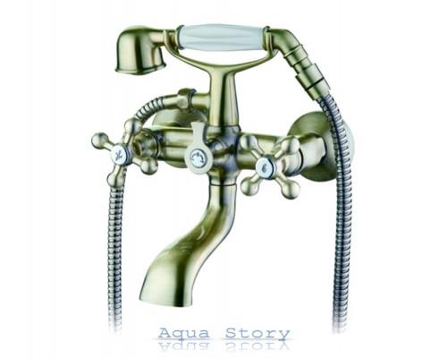 Смеситель для ванны с коротким изливом IBERGRIF LUCCA M13052C