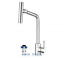 Змішувач для кухні однорукий FLEKO FS524NS