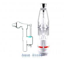 Арматура для сливного бачка универсальная с клапаном боковой подачи NOVA plastik 4122