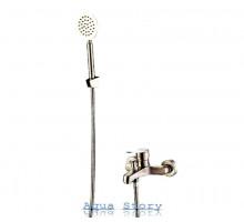 Змішувач для ванни з нержавіючої сталі однорукий FLEKO FS 553 NS