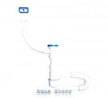 Сифон для мийки з переливом, 70 мм NOVA plastik тисячі тридцять-три