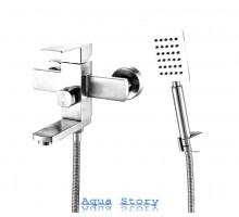 Змішувач для ванни з нержавіючої сталі змішувач FLEKO FS513NS