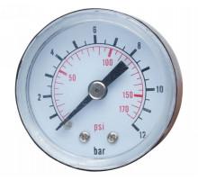 Манометр для контролера 12 бар 40мм Wetron (779741)