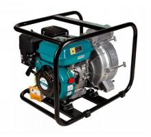 Мотопомпа 6.5л.с.Hmax 29м Qmax 60м³ / ч (4-х тактний) для брудної води LEO (772517)