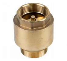 """Клапан обратный 1 1/2""""M×1 1/2""""F (латунь) euro 680г Aquatica (779659)"""