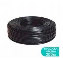 Кабель електричний для свердловинних насосів H07RN -F круглий (3 × 1.5мм²) 200м Dongyin (779945)