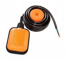 Вимикач поплавковий універсальний кабель 3м × 0.75мм² з баластом Wetron (779661)