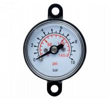 Манометр для контролера 10 бар 29мм WETRON (779742)